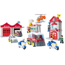 12 Piece Fire Department Set
