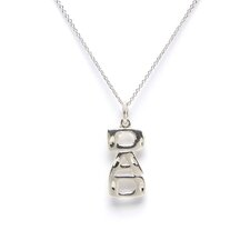 <strong>Jewelryweb</strong> Sterling Silver Dad Charm