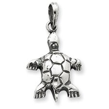 <strong>Jewelryweb</strong> Sterling Silver Antiqued Pendant
