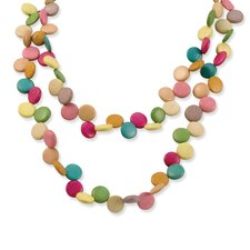 <strong>Jewelryweb</strong> Multicolored 30inch Necklace