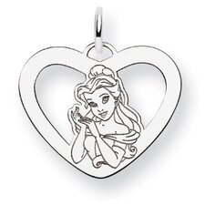 Disney Belle Heart Charm