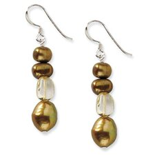 <strong>Jewelryweb</strong> Citrine Drop Earrings