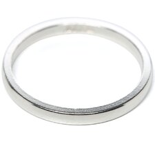 Sterling Silver 2mm Half-Round Band
