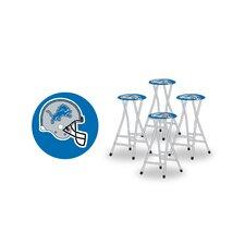 "NFL 40"" Barstool with Cushion (Set of 4)"