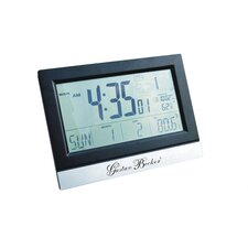 Grant Atomic Digital Wall Clock with Weather Station