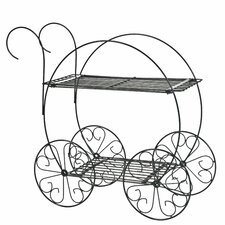 Two-Tiered Garden Planter Cart