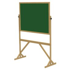 Duroslate Reversible Green Chalkboard with Wood Frame