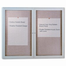 Enclosed Outdoor 3' x 4' Bulletin Board
