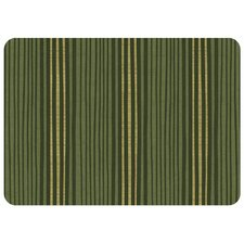 <strong>Bungalow Flooring</strong> Hand Painted Stripe Decorative Mat