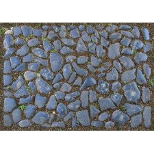 Black Stones Decorative Mat