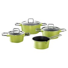 Pretty 7 Piece Cookware Set