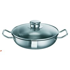 40cm Stainless Steel Bo Lang Wok with Accessories Set