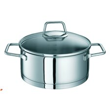 Cool Stainless Steel Deep Casserole