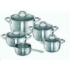 Wega 9 Piece Cookware Set