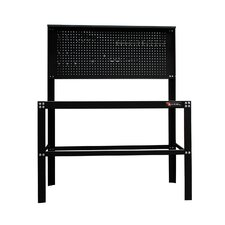 "<strong>Excel Hardware</strong> 48"" Steel Work Bench with Built-in Pegboard"