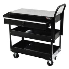 "<strong>Excel Hardware</strong> 36.8"" Metal Tool Cart"