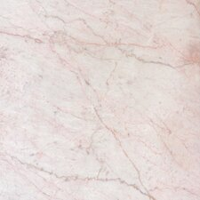 "SAMPLE - 12"" x 12"" Polished Marble Tile in Cherry Blossom"