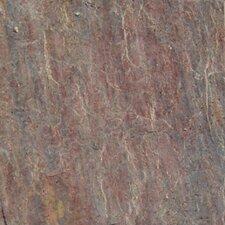 "16"" x 16"" Cleft Quartzite Tile in Copper"