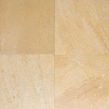 "Milan 18"" x 18"" Porcelain Tile in Gialla"