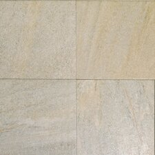 "Milan 18"" x 18"" Porcelain Tile in Grigia"