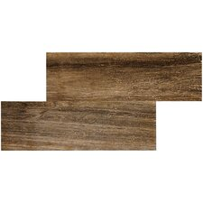 "<strong>MS International</strong> Sequoia 20"" x  6-1/2"" Porcelain Tile in Coal"