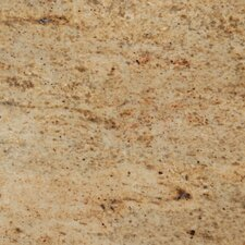 "18"" x 18"" Polished Granite Tile in Kashmir Gold"