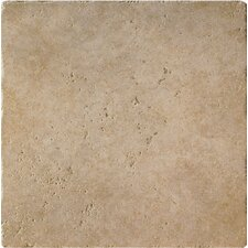 "Da Vinci 18"" x 18"" Glazed Porcelain Tile in Noche"