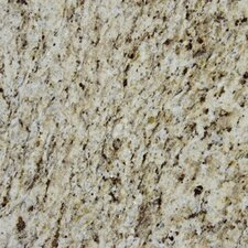 "12"" x 12"" Polished Granite Tile in Giallo Ornamental"