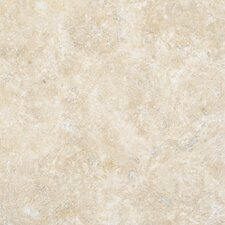 "12"" x 12"" Tumbled Travertine Tile in Durango Cream"