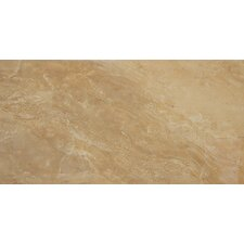 "<strong>MS International</strong> Pietra Royal 24"" x 12"" Porcelain Polished Floor and Wall Tile in Glazed"
