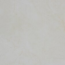 "Pietra Crema 18"" x 18"" Porcelain Polished Floor and Wall Tile in High Gloss"
