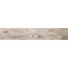 "Redwood Natural 36"" x 6"" Porcelain Glazed Floor and Wall Tile in Glazed Textured"