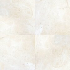 """Pietra Marfil 18"""" x 18"""" Porcelain Polished Floor and Wall Tile in High Gloss"""
