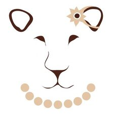 <strong>Avalisa</strong> Animal Face - Lioness Stretched Wall Art