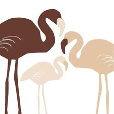 Animal - Flamingo Stretched Wall Art