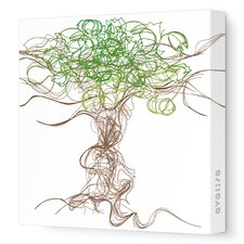 Imaginations Branches Stretched Canvas Art