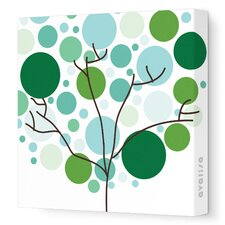 Imagination - Foliage Stretched Wall Art