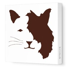 Animal Face - Cat Stretched Wall Art