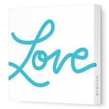 Imaginations Love Stretched Canvas Art