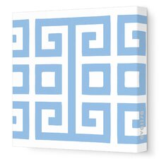Pattern - Big Square Stretched Wall Art
