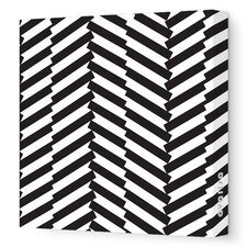 Pattern - Herringbone Stretched Wall Art
