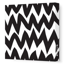 <strong>Avalisa</strong> Pattern - Zig Zag Stretched Wall Art