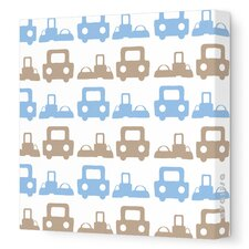 Things That Go Roadtrip Stretched Canvas Art