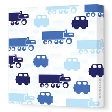 Things That Go Traffic Stretched Canvas Art