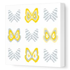 Imaginations Butterfly Group 1 Stretched Canvas Art