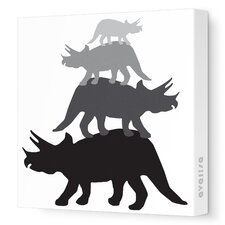 <strong>Avalisa</strong> Animal - Tri Tower Stretched Wall Art