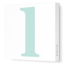 Letters Lower Case 'l' Stretched Canvas Art