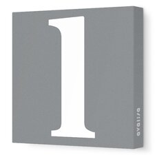 Letter - Lower Case 'l' Stretched Wall Art
