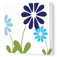 <strong>Avalisa</strong> Imagination - Simple Floral Stretched Wall Art