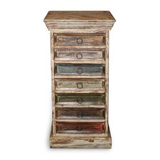 New England 7 Drawer Chest